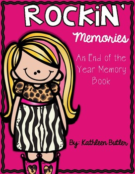 End of the Year Memory Book (FREE)