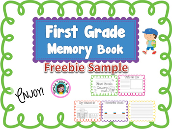 End of the Year Memory Book  FREEBIE - First Grade