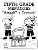 Fifth Grade Memory Book: Pirate Theme