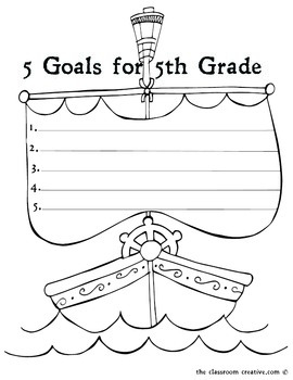 Fourth Grade Memory Book: Pirate Theme