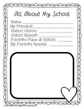 End of the Year Memory Book Freebie!