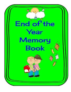 End of the Year Memory Book Grades 1-4