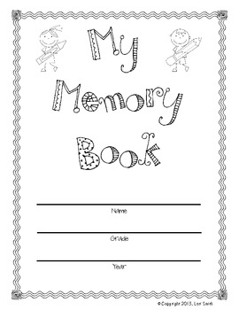 End of the Year Memory Book (Grades 1-5)