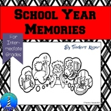 End of the Year Memory Book (Intermediate - Middle School)