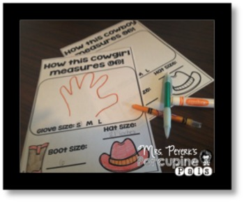 End of the Year Memory Book: Cowboy and Cowgirl Theme