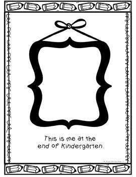 End of the Year Memory Book ~ K-3