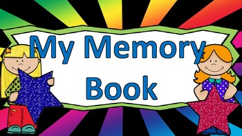 End of the Year Memory Book (K-3rd)