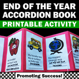 End of the Year Memory Book, Last Day of School Activities