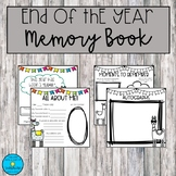 End of the Year Memory Book- Llama theme