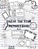 End of the Year Memory Booklet (Half Page Size) Loaded wit