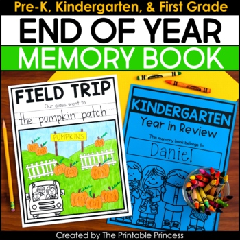 Kindergarten Memory Book | End of the Year Memory Book