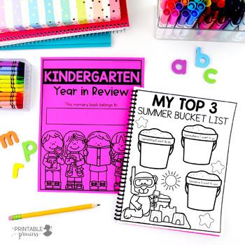 Kindergarten Memory Book | End of the Year Memory Book