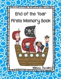 End of Year Memory Book {Pirate Theme}