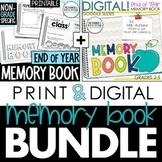 End of the Year Memory Book *PRINT & DIGITAL Bundle* (Not