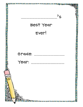 End of the Year Memory Book - Primary
