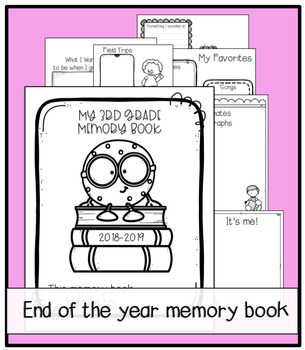 image about Free Printable Memory Book Pages referred to as Close of the Yr Memory Reserve Printable 50+ internet pages Free of charge!