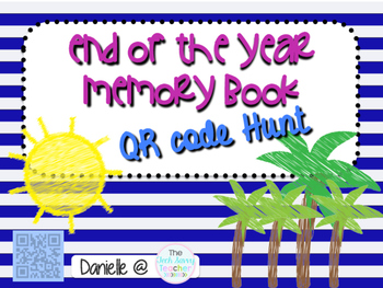 QR Code End of the Year Memory Book