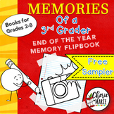 End of the Year Memory Book Sample Activities