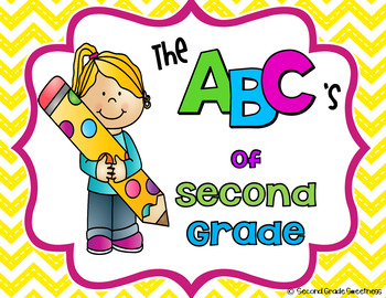 End of the Year Writing Activity {ABC's of Second Grade}