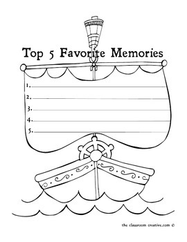Second Grade Memory Book: Pirate Theme