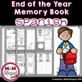 End of the Year Memory Book - Spanish