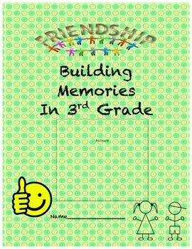 End of the Year Memory Book - Third Grade