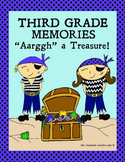 Third Grade Memory Book: Pirate Theme