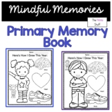 End of the Year Activities Mindful Memory Book