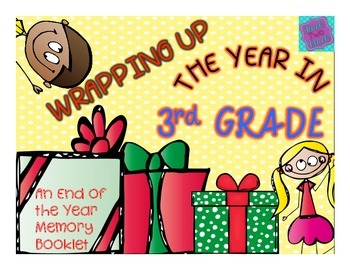 End of the Year Memory Book - Wrapping Up the Year in 3rd Grade