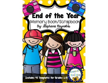 End of the Year Memory Book/ Year Book