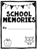 End of the Year Memory Book/Year Book for Kindergarten and 1st grade Printable