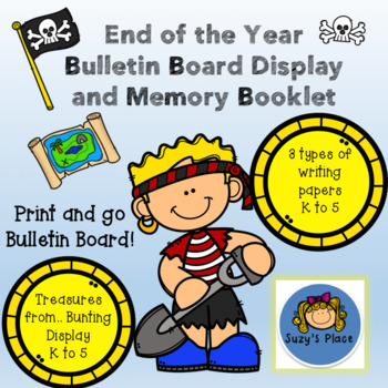 End of the Year Memory Book and Bulletin Board Display