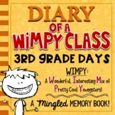 3rd Grade End of Year Memory Book | Diary of a WIMPY Class