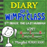 5th Grade End of Year Memory Book | Diary of a WIMPY Class