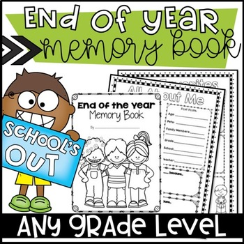 end of year memory book memory book by ashleigh teachers pay teachers 6533