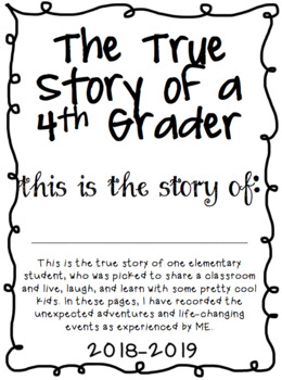 End of the Year Memory Book for Elementary Students **UPDATED FOR 2018-2019!**