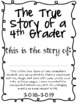 End of the Year Memory Book for Elementary Students