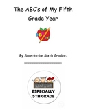 End of the Year Memory Book for Fifth Graders