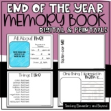 End of the Year Memory Book for Google Drive