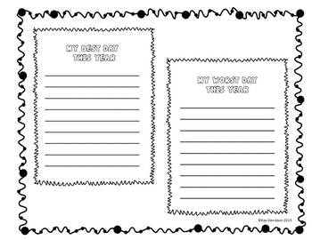 End of the Year Memory Book for Grades 3-6