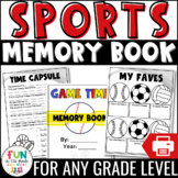 End of the Year Memory Book Activity: Sports Theme {Grades 3-6}