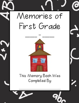 End of the Year Memory Book for K-3