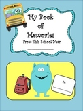 End of the Year Memory Book for Students to Make As A Keep