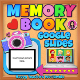 End of the Year Memory Book in Google Slides