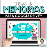 End of the Year Memory Book in Spanish | Distance Learning