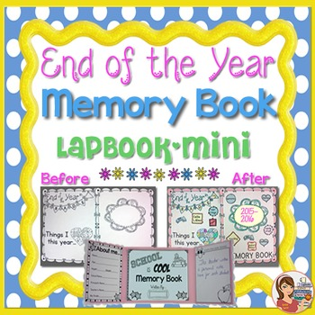 End of Year Memory Book (lapbook mini)