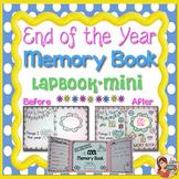 End of Year Memory Book (lapbook mini)