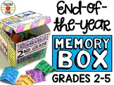 End of the Year Memory Box - Memory Book Alternative for G