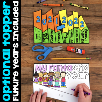 End-of-the-Year Memory Flap Book Craftivity BUNDLE English & Spanish