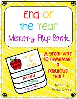 End of the Year Memory Flip Book